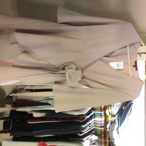 Taupe Wrap Shirt